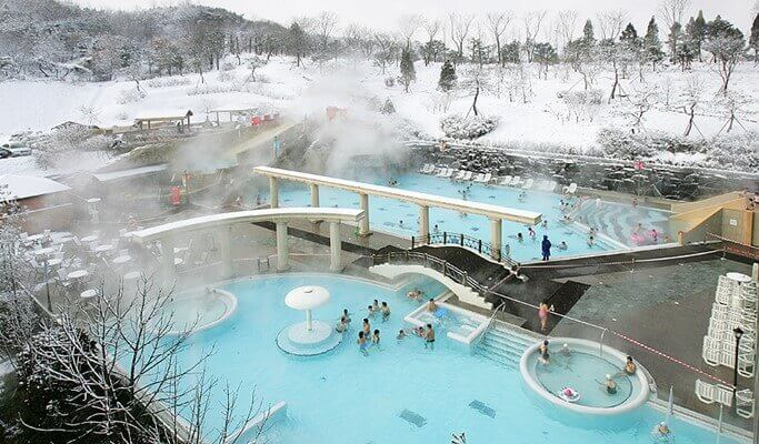 Jisan Ski Resort + Termeden Spa 1 Day Shuttle Bus Package
